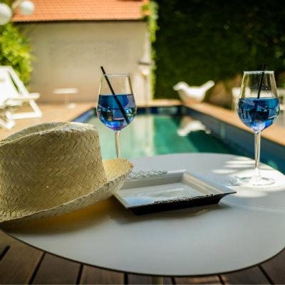 exterieur piscine hotel particulier béziers hôtel de charme 4 étoiles