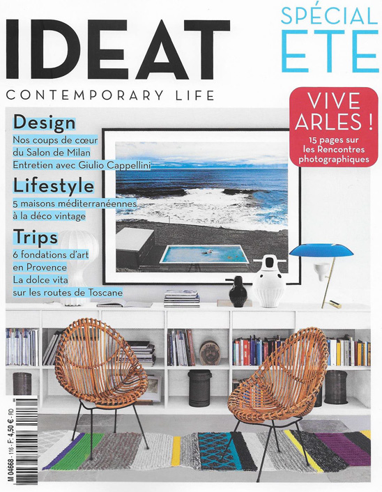Couverture du magazine IDEAT