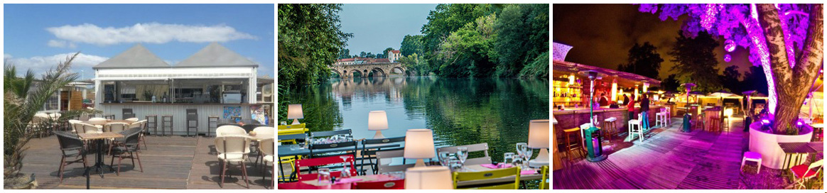 Restaurants d'été à Béziers