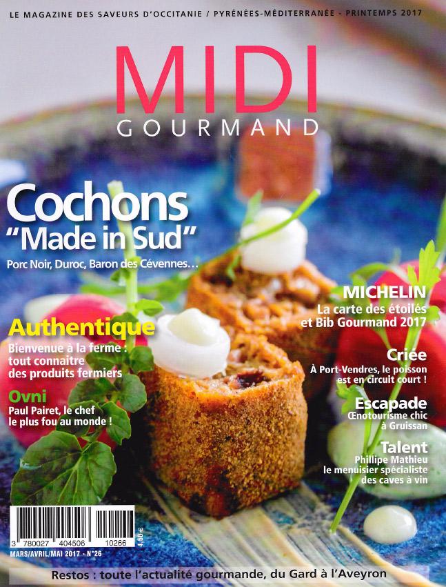 Midi Gourmand article presse