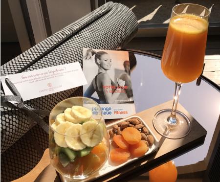 yoga-tapis healthy breakfast