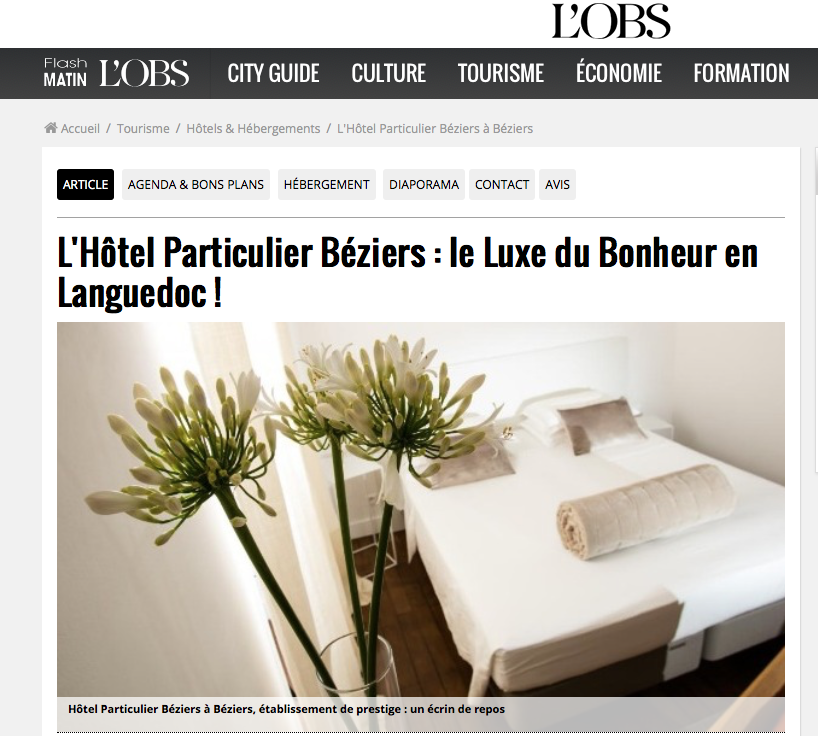 Article Nouvel Obs